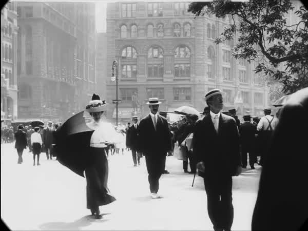 New York před 100 lety