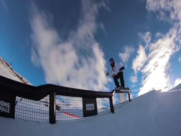 Neuvěřitelné triky na snowboardu