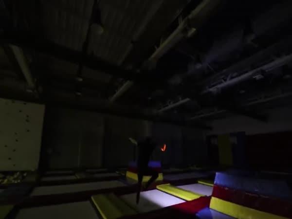Přespávačka - Jump Aréna