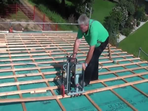 Laťování střech
