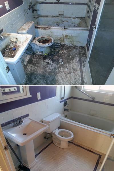 GALERIE – Špinavé vs. vyčištěné