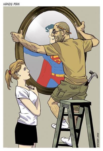 GALERIE - Pravdivé ilustrace dnešní doby 2