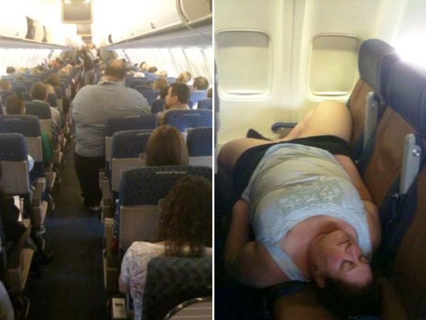 GALERIE – Lidé, které nechcete potkat v letadle