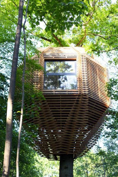 GALERIE – Luxusní domeček na stromě