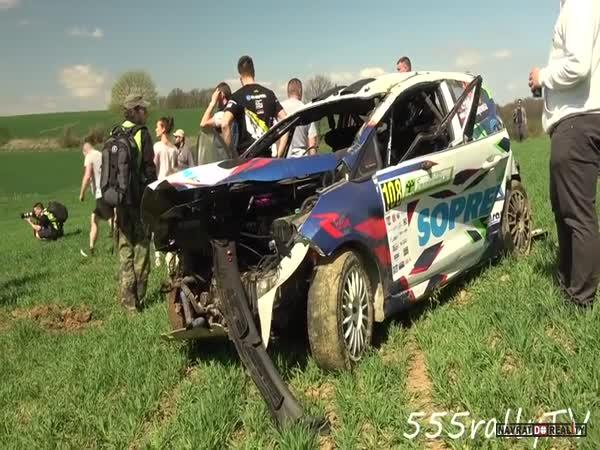 Rallye nehoda v Polsku