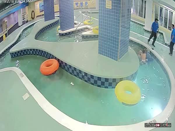 9 minut pod vodou