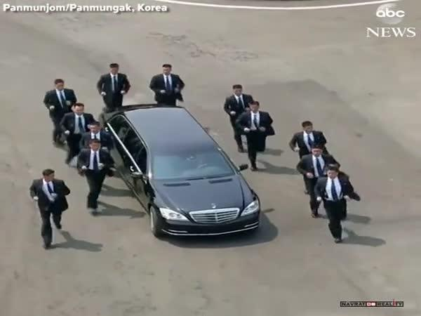 Ochranka Kim Čong-una