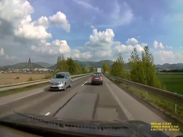 Idiot na silnici