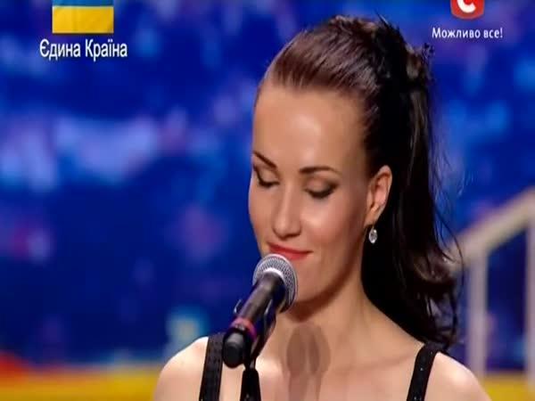 Ukrajina má talent - Tatiana Kundik