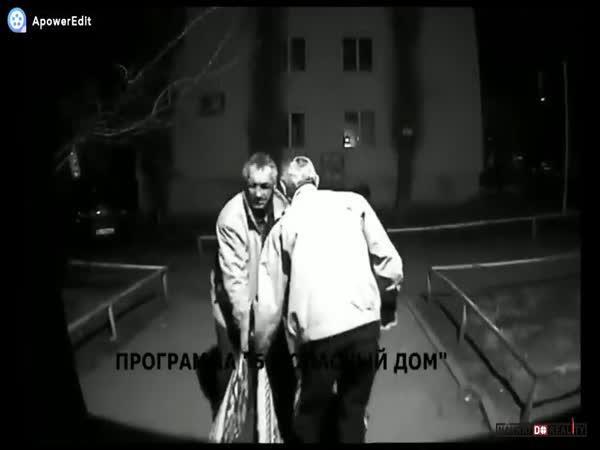 Odklizení těla v Rusku