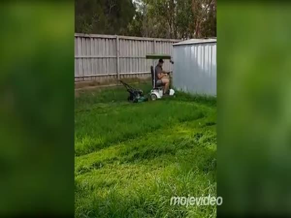 Sekačka trávy pro ty nejlínější