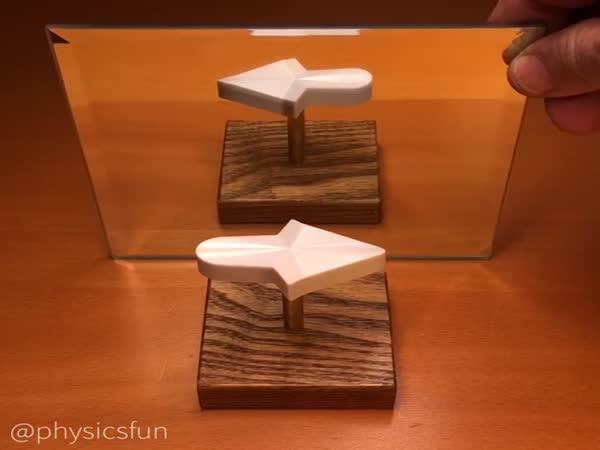 Optická iluze od matematika - Šipka