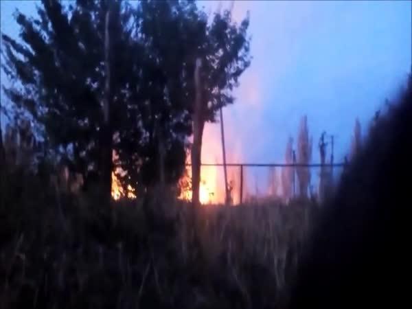 Pod raketovou palbou (Ukrajina)