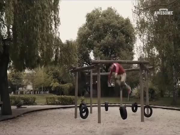 Epic Slackline & Trickline Skilly