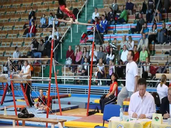 Mladí gymnasti