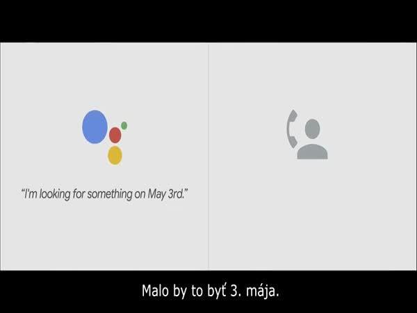 Google Asistent za vás zavolá