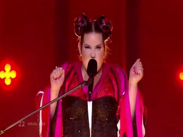 Vítěz Eurovize 2018 - Netta Barzilaietta