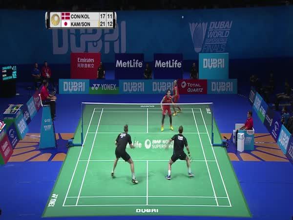 Badmintonová výměna měsíce
