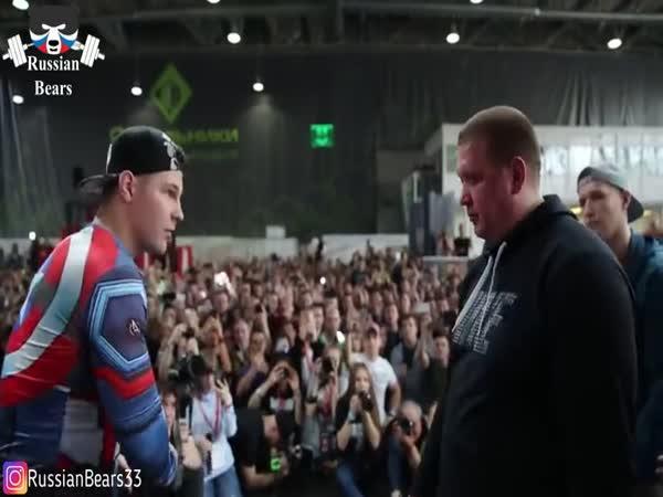 Ruský šampionát ve fackovaní 2018