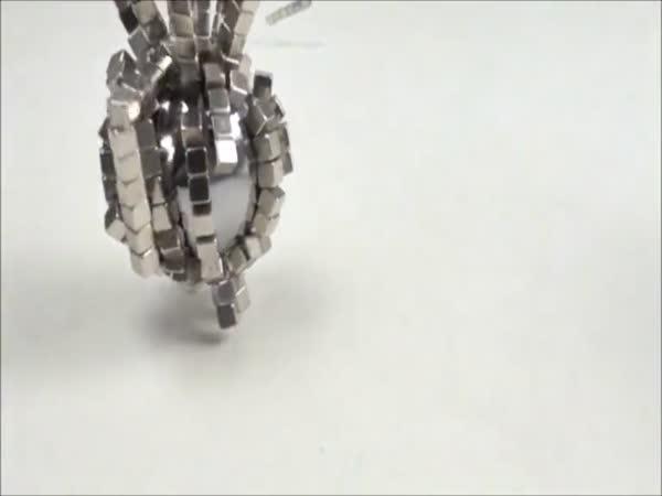Srážky magnetických objektů