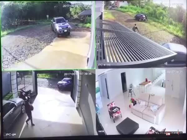Zloději vs. majitel v Paraguayi