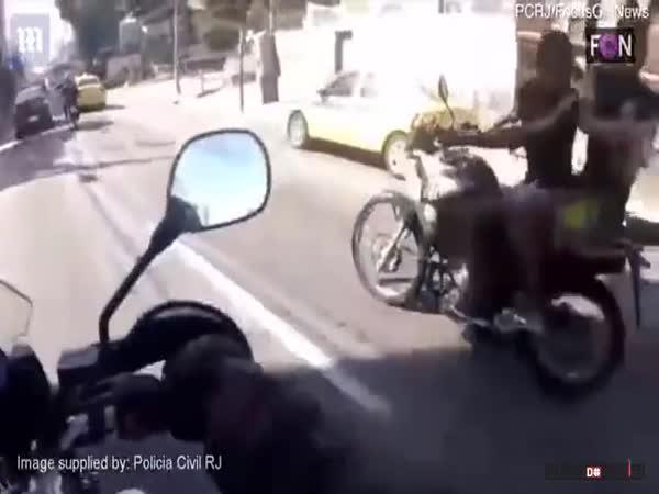 Krádež motorky z vlastního pohledu