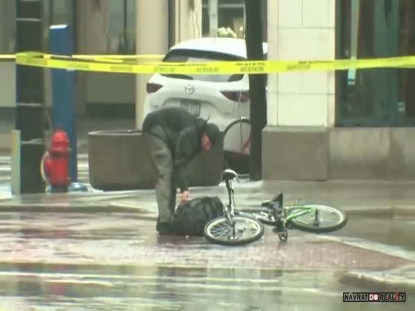 Cyklista zneškodní