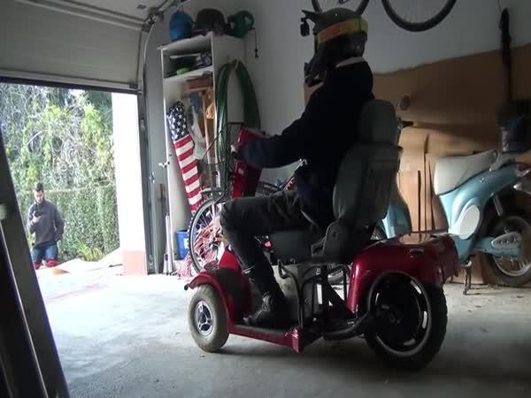 Elektrický vozík pro