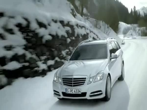 Reklama na Mercedes