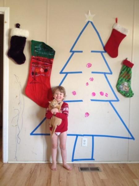 GALERIE - Vánoční výzdoba lenochů