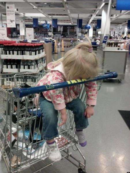 GALERIE - Děti, které usnou všude
