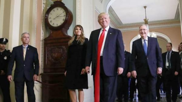 GALERIE - Trump a jeho kravaty