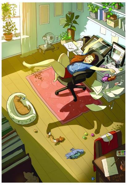 GALERIE - Co dělají holky, když jsou samy