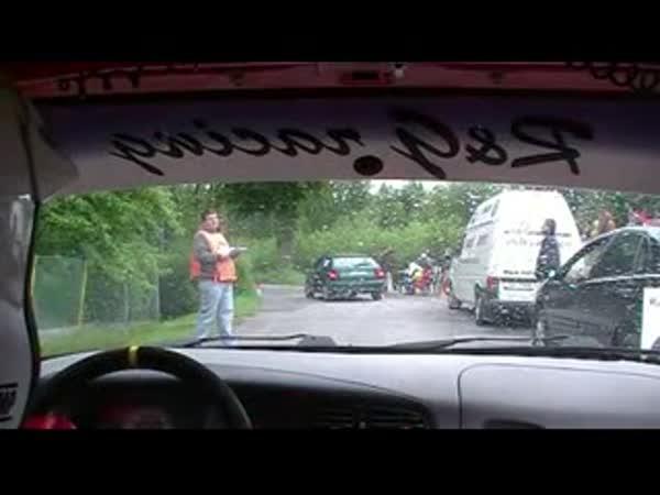 Rally jezdci jako komici