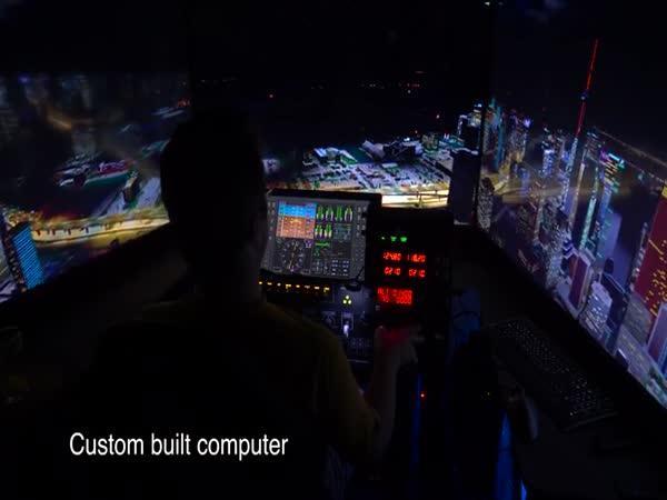 Xplane - letový simulátor v 12K!