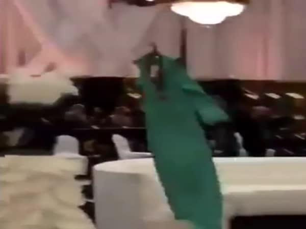 Módní přehlídka v Saúdské Arábii