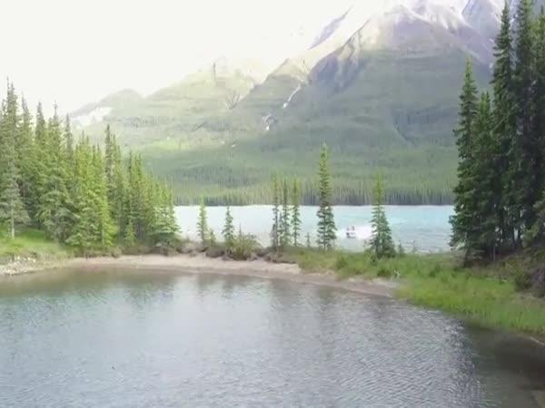 Z řeky rovnou do jezera