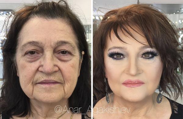 GALERIE - Nejlepší make-up proměny stařenek
