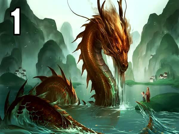 TOP 5 - Bytosti čínské mytologie