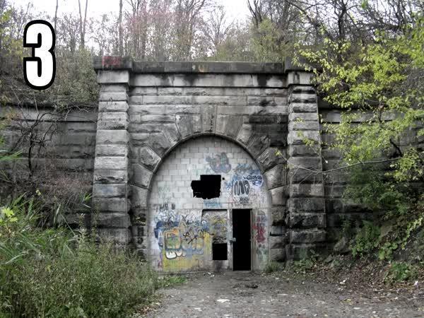 TOP 5 – Prokleté tunely