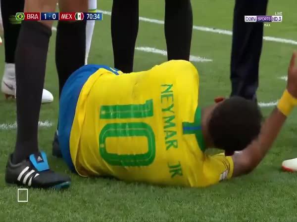 Neymar a jeho fotbalové umění