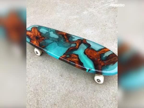 Skateboard za 950 USD