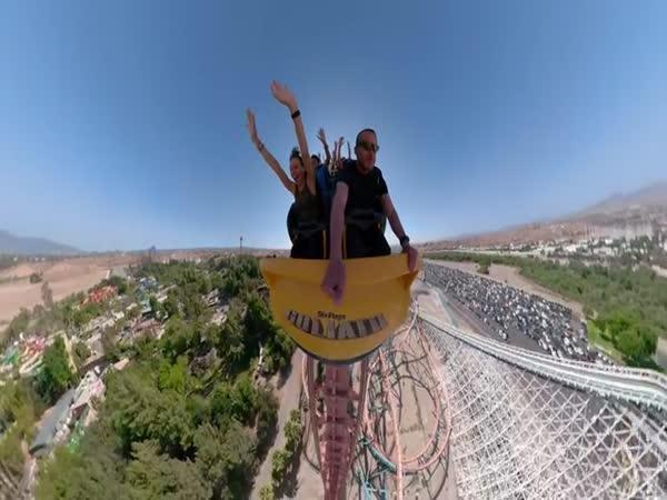 Na horské dráze s GoPro kamerou