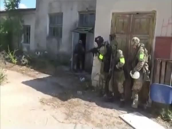 Cvičení ruských jednotek