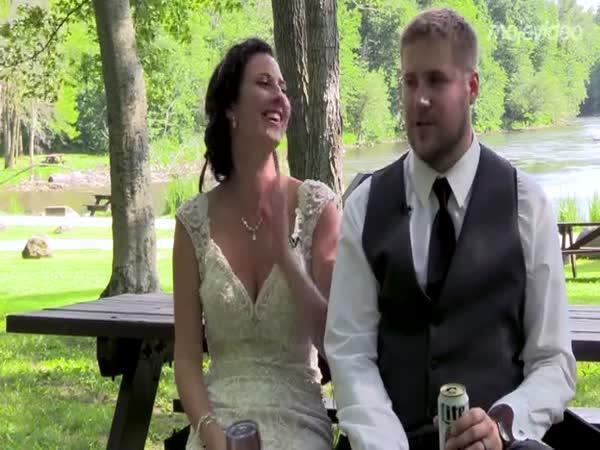 Snad to novomanželům vydrží!