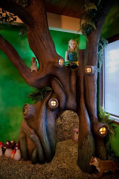 GALERIE - Fantastický pohádkový pokoj pro dceru