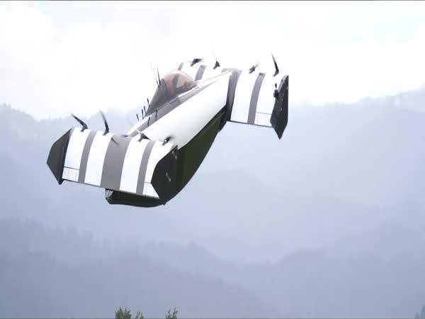 BlackFly - dron na přepravu lidí