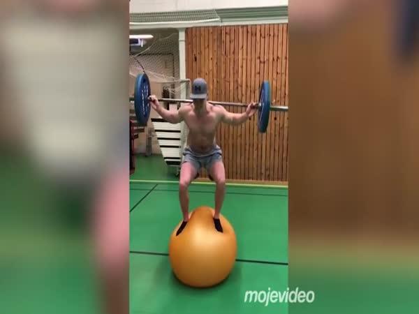 Opravdu těžký trénink!