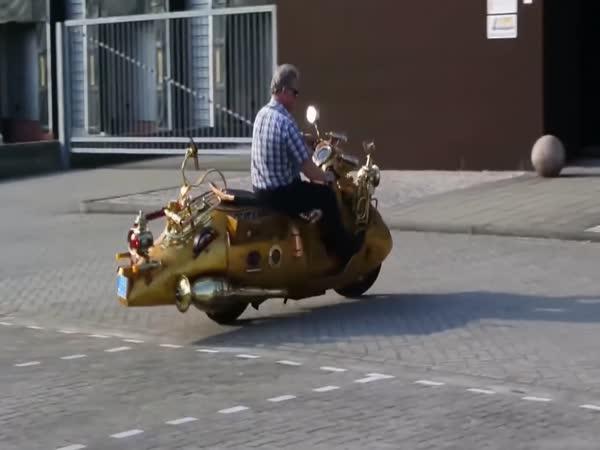 TOP 5 - Nejdivnější motorky světa