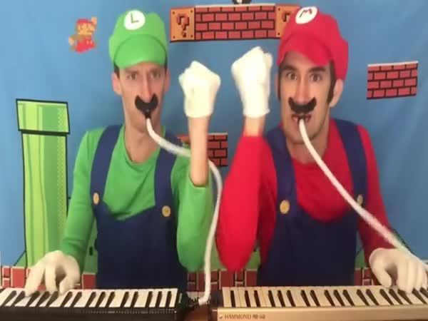 Super Mario Bros na harmonice
